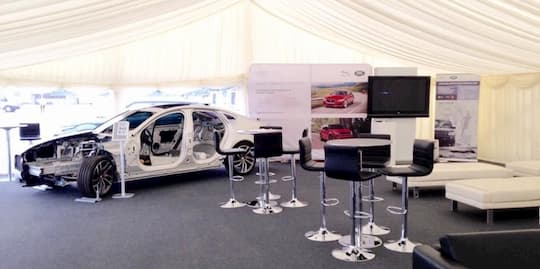 Corporate Marquee Hire for Car Sales