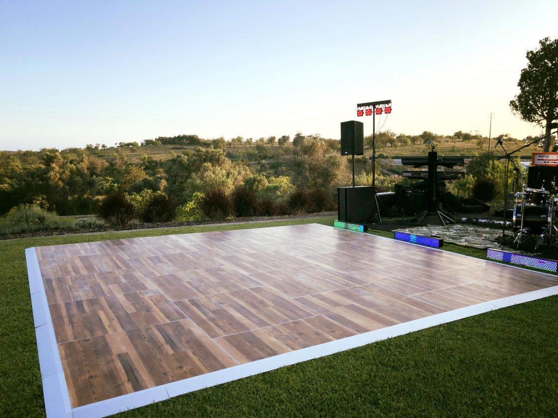 Rustic Dance floor